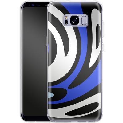 Samsung Galaxy S8 Plus Silikon Handyhuelle - Minimalistic Surfer Way von Barruf