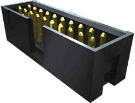 Samtec , TSS, 10 Way, 2 Row PCB Header (34)