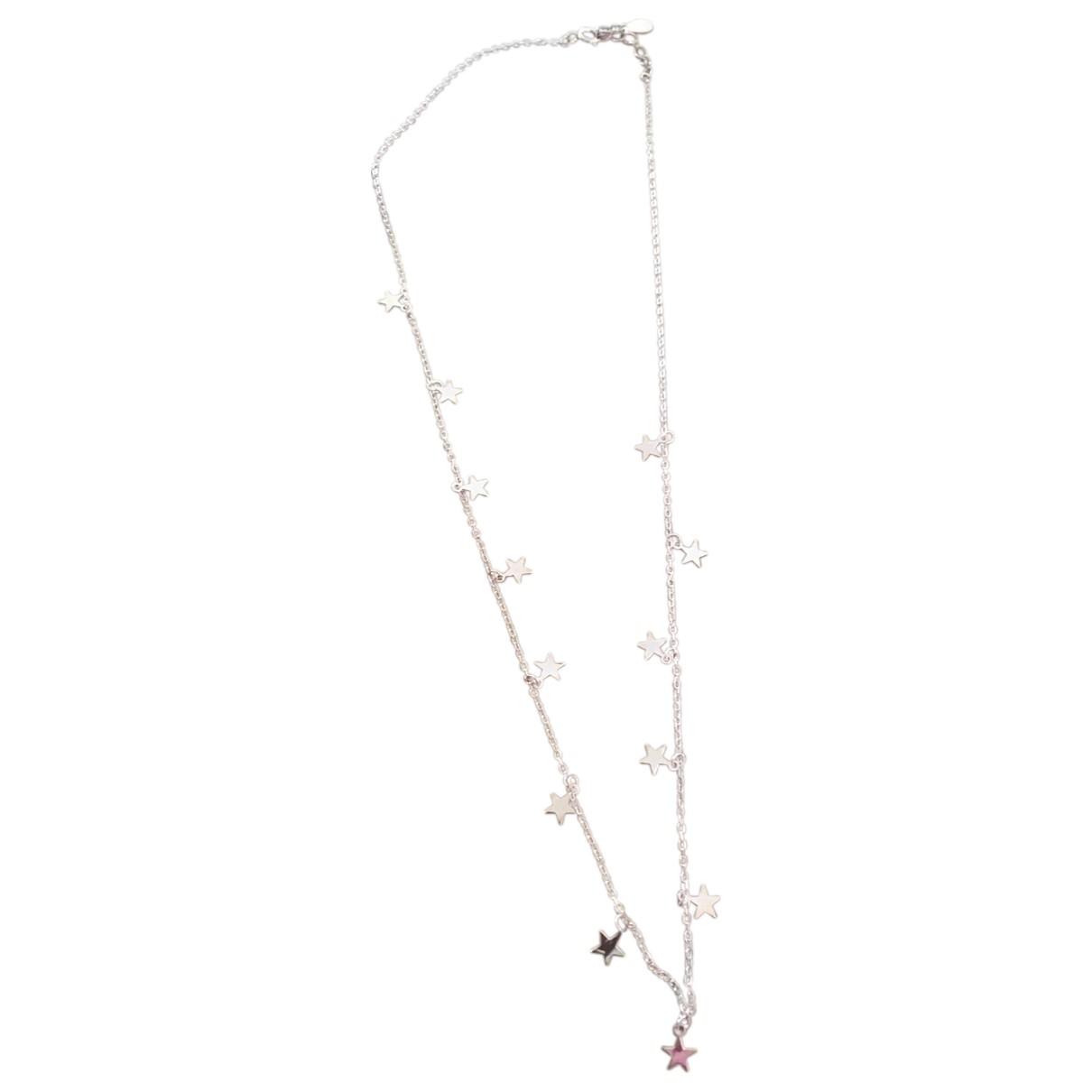 - Collier Motifs Etoiles pour femme en plaque or - rose