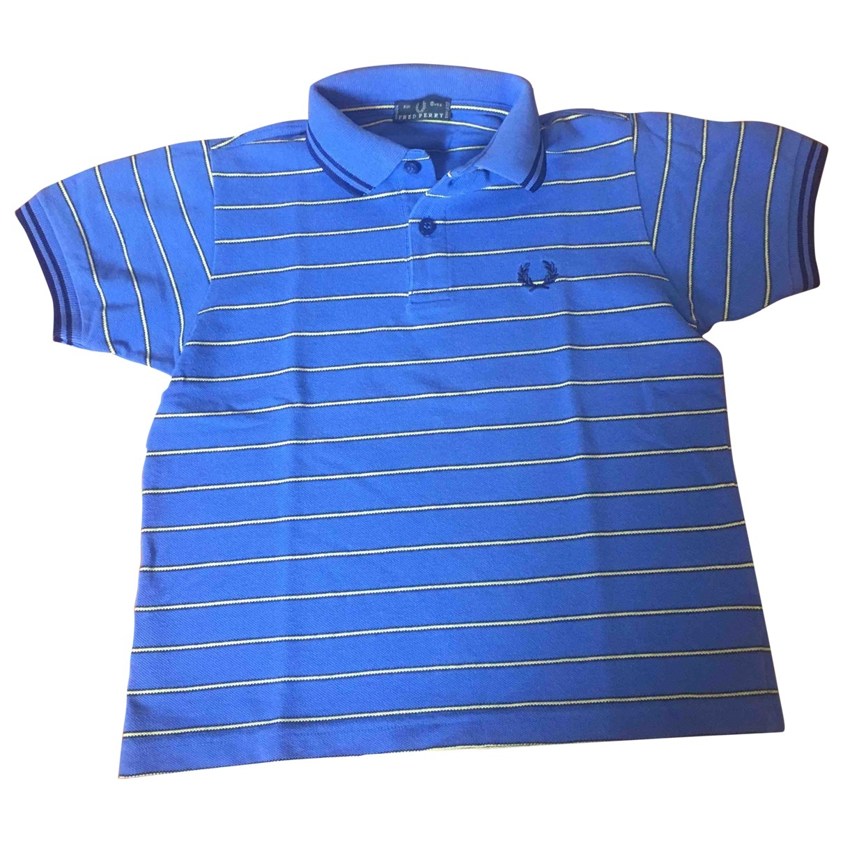 Fred Perry \N Blue Cotton  top for Kids 6 years - up to 114cm FR
