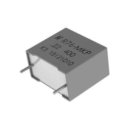 KEMET Capacitor PP R76 125C  0.15uF 5% 630VDC (300)