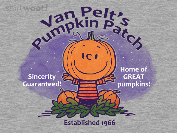 Van Pelt's Pumpkins T Shirt