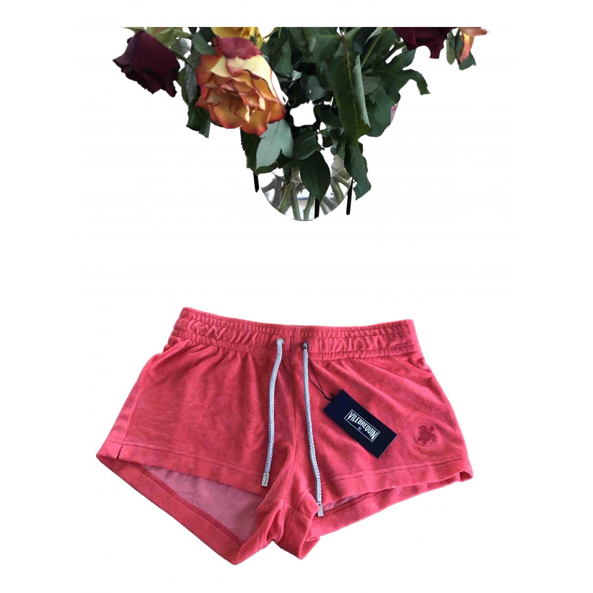 Vilebrequin \N Pink Sponge Shorts for Women 34 FR