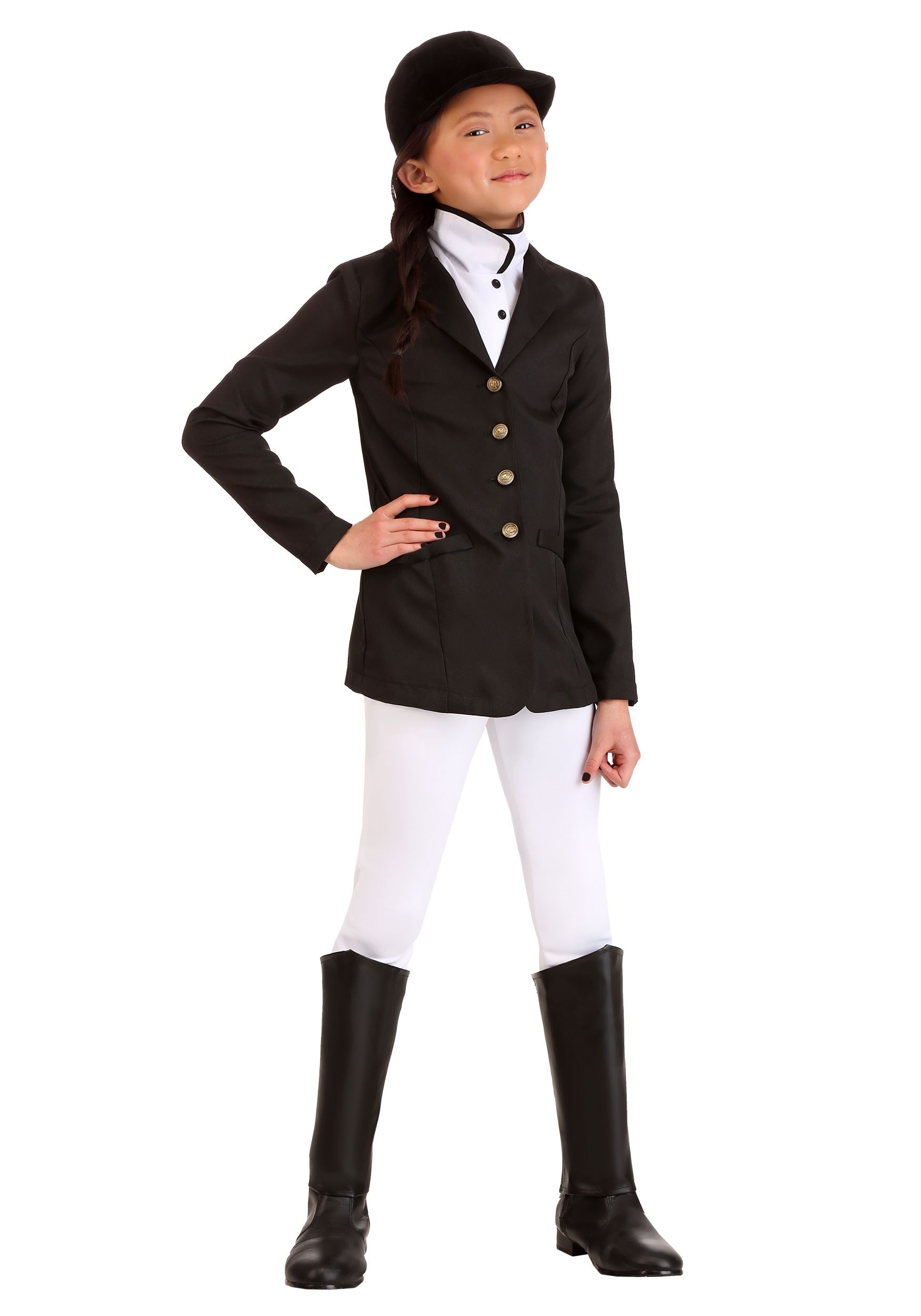 Girls Equestrian Costume Jockey Kids