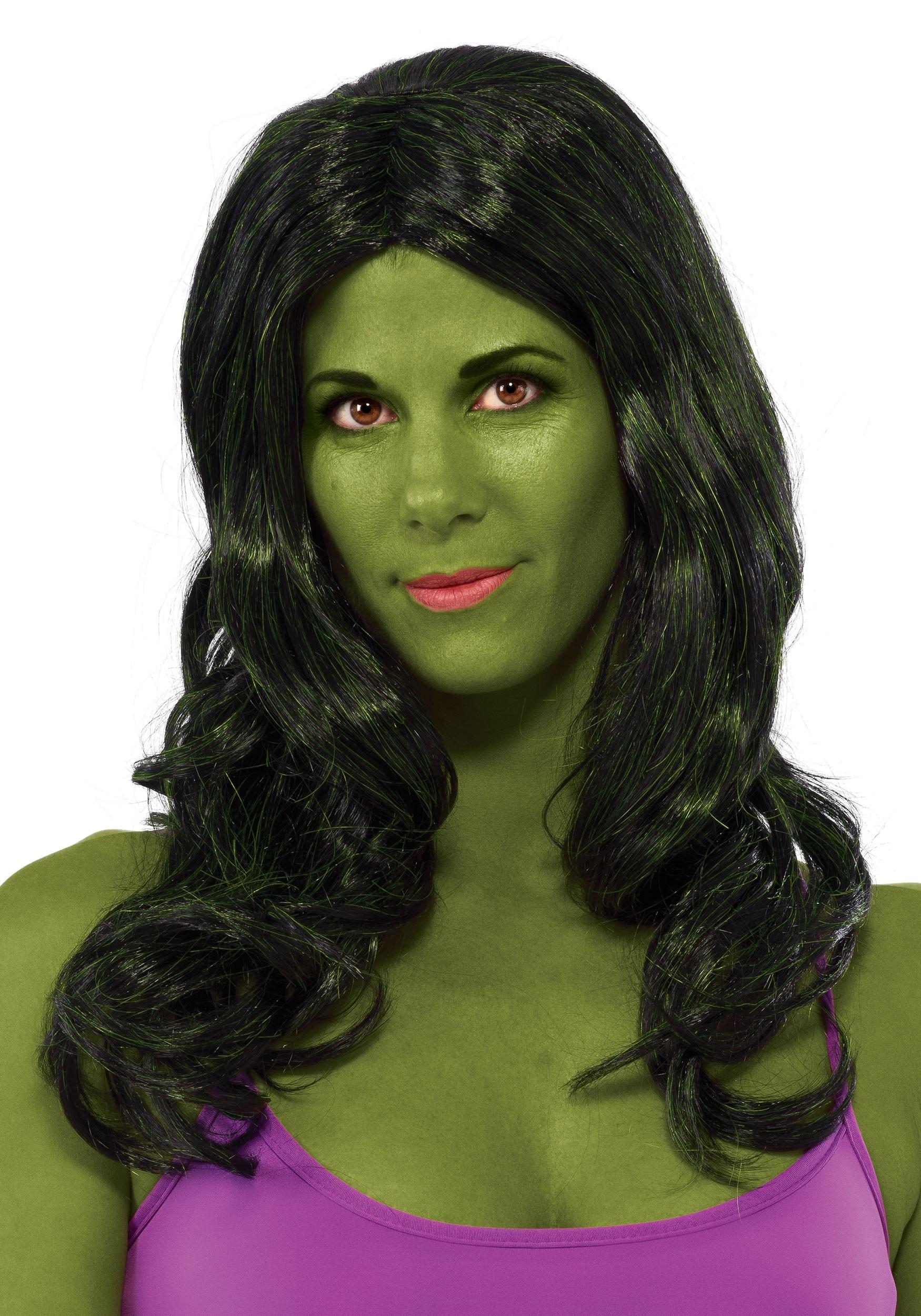 Women's She Hulk Wig