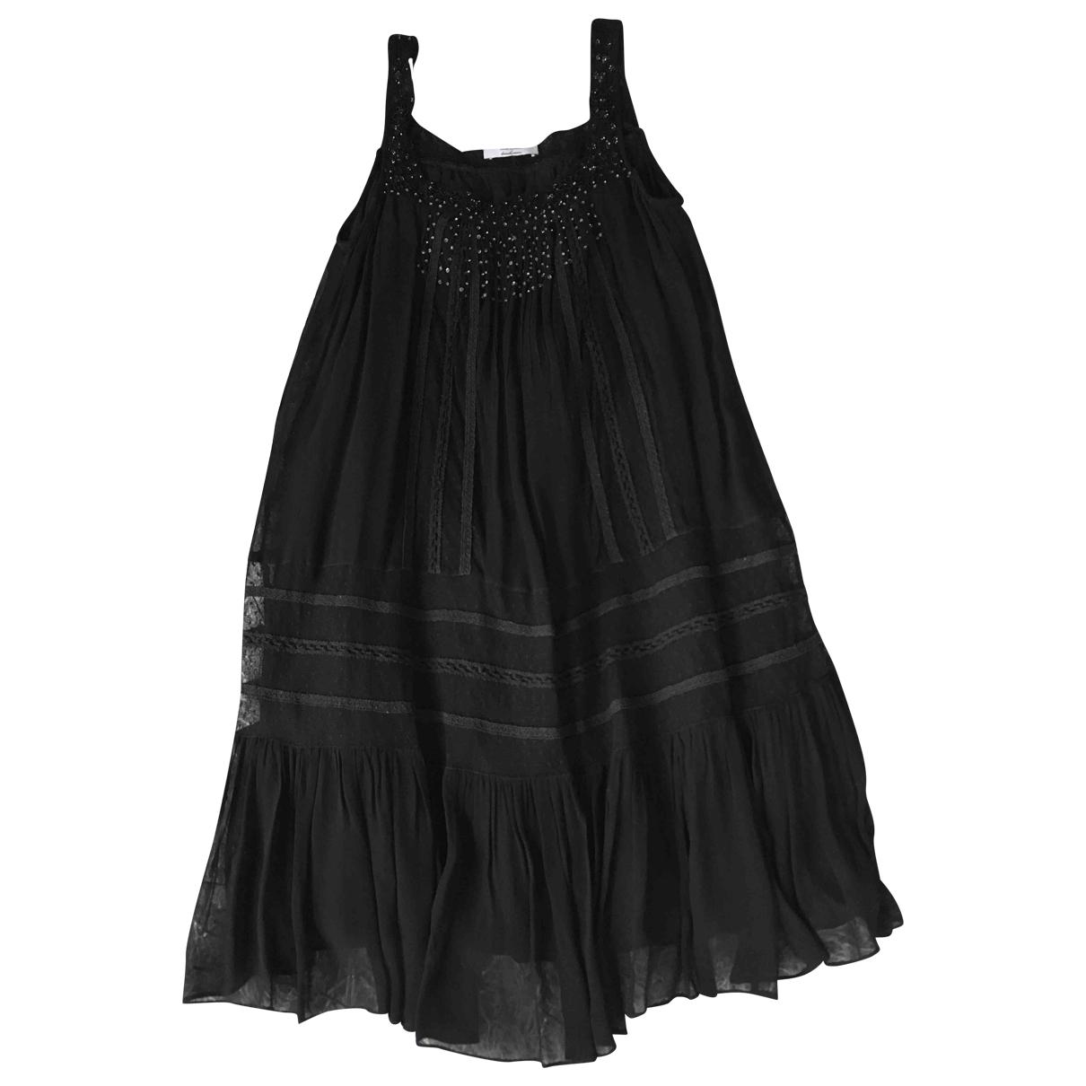 Twin Set \N Kleid in  Schwarz Viskose