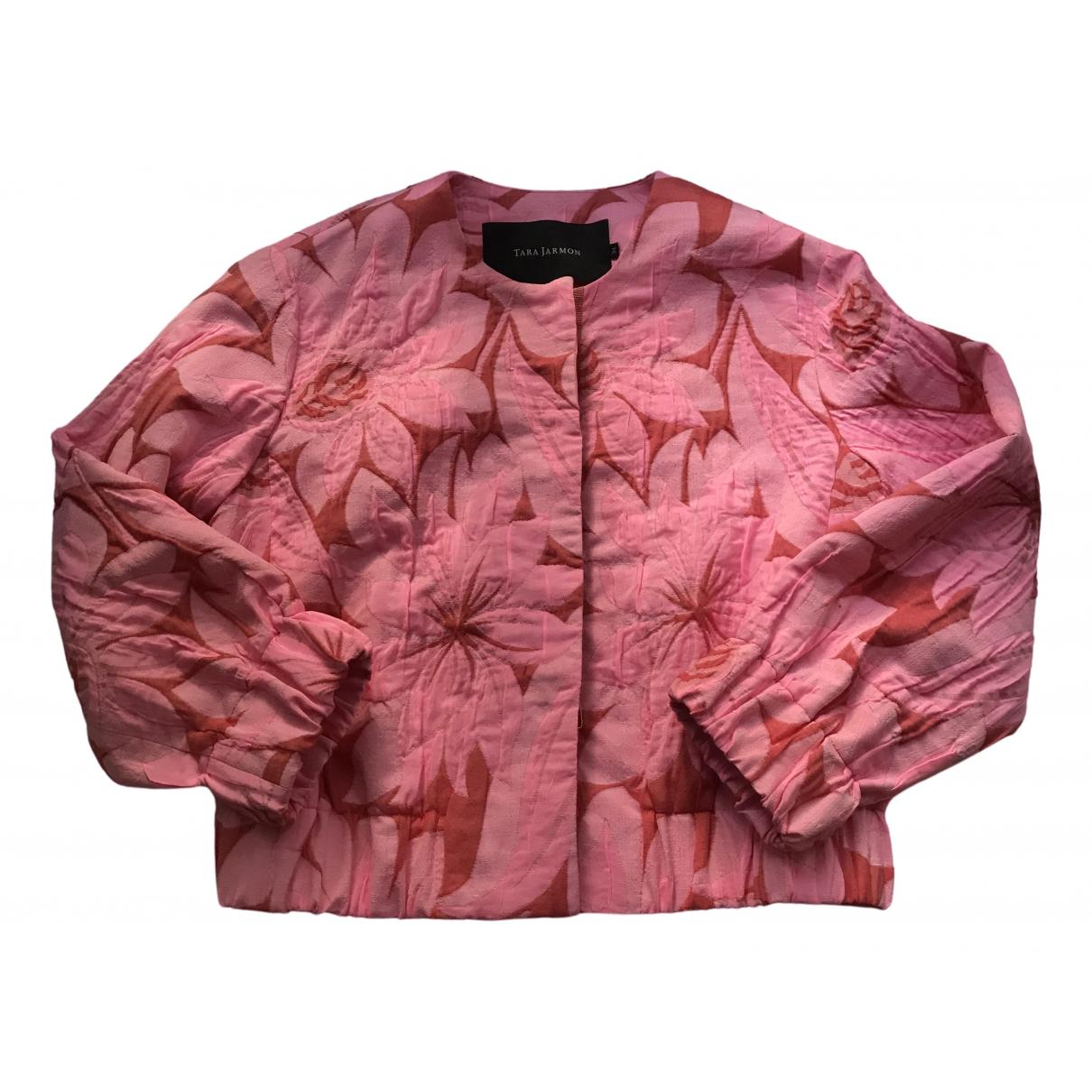 Tara Jarmon - Veste   pour femme en coton - rose