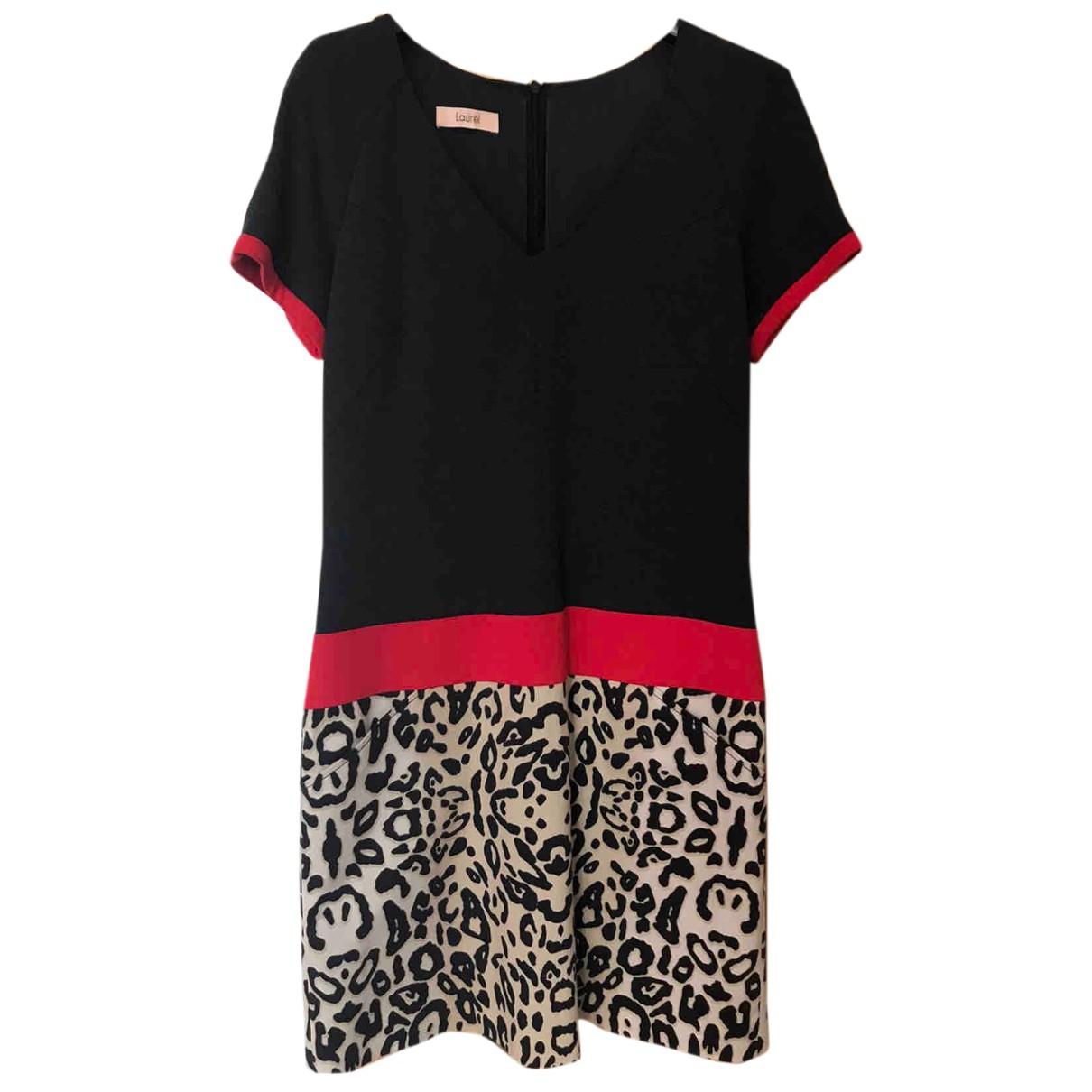 Laurel \N Kleid in  Schwarz Viskose