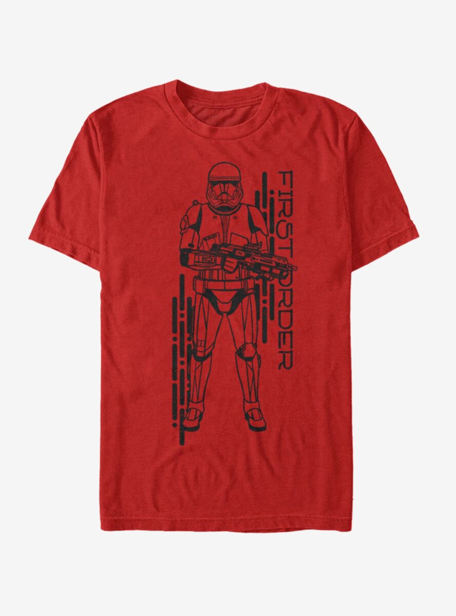 Star Wars Episode IX The Rise Of Skywalker Project Red T-Shirt