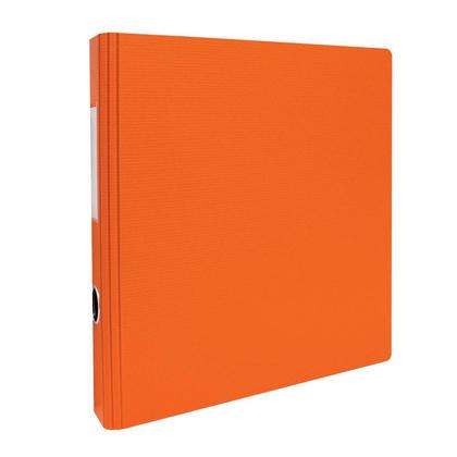 Geo 2'' d-rings binder avec hole et label holder - 8 Couleurs disponibles - orange 239103
