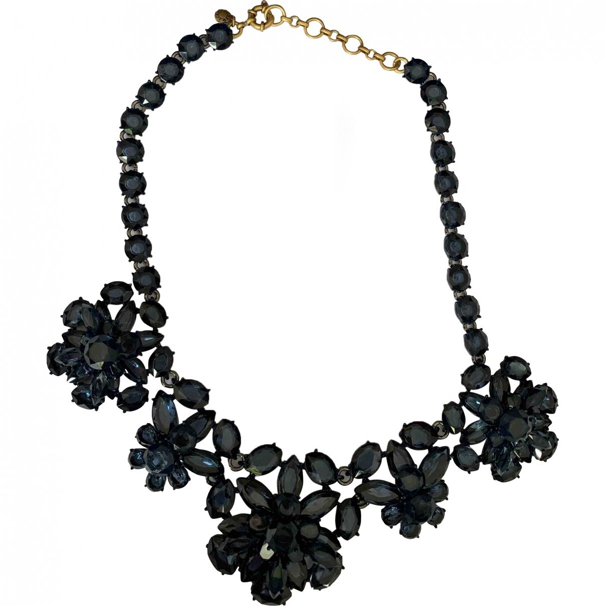 J.crew \N Blue Metal necklace for Women \N