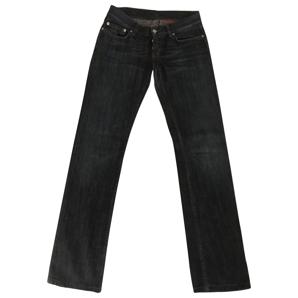 Prada \N Blue Denim - Jeans Jeans for Women 26 US