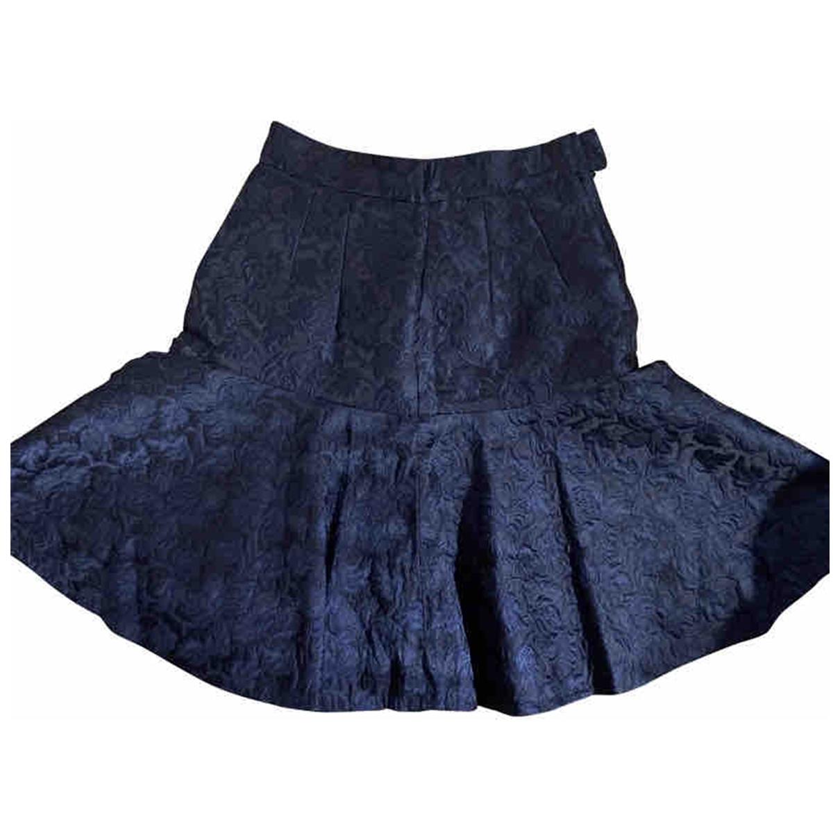Dolce & Gabbana \N Navy skirt for Women 38 IT