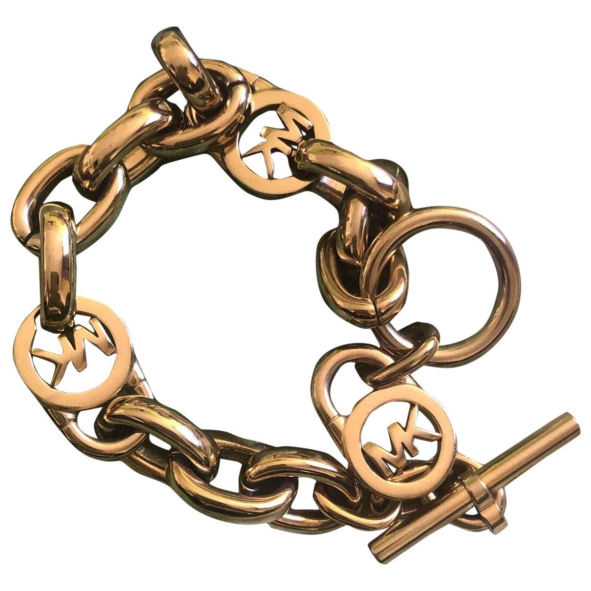 Michael Kors \N Armband in  Gold Vergoldet