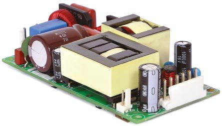 EOS , 225W Embedded Switch Mode Power Supply SMPS, 24V dc, Open Frame
