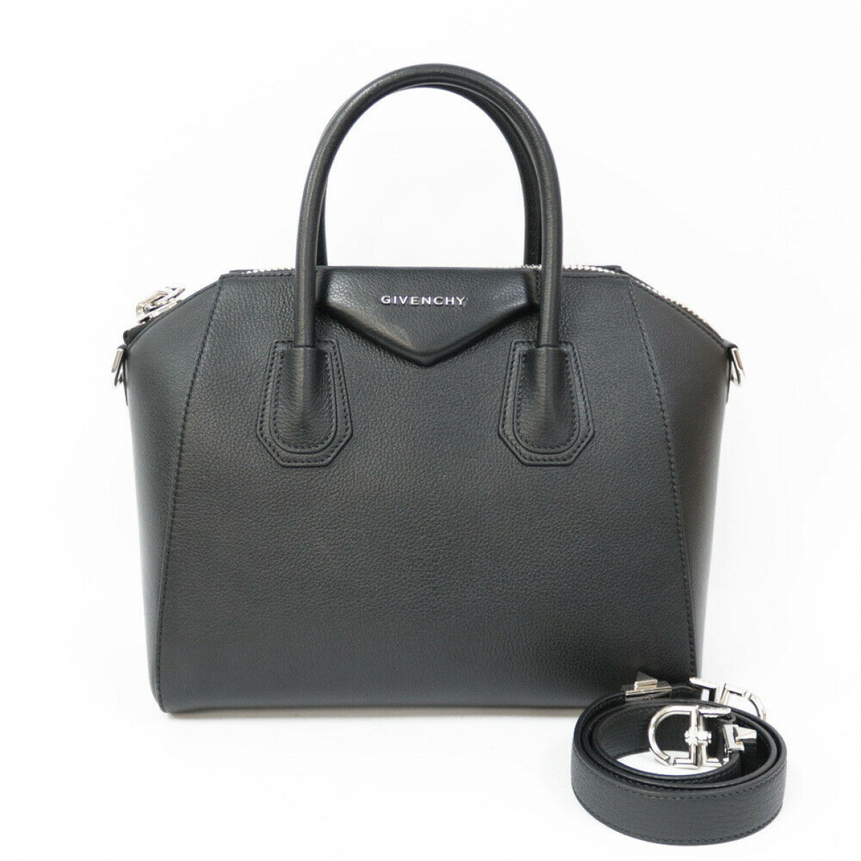 Givenchy N Leather handbag for Women N