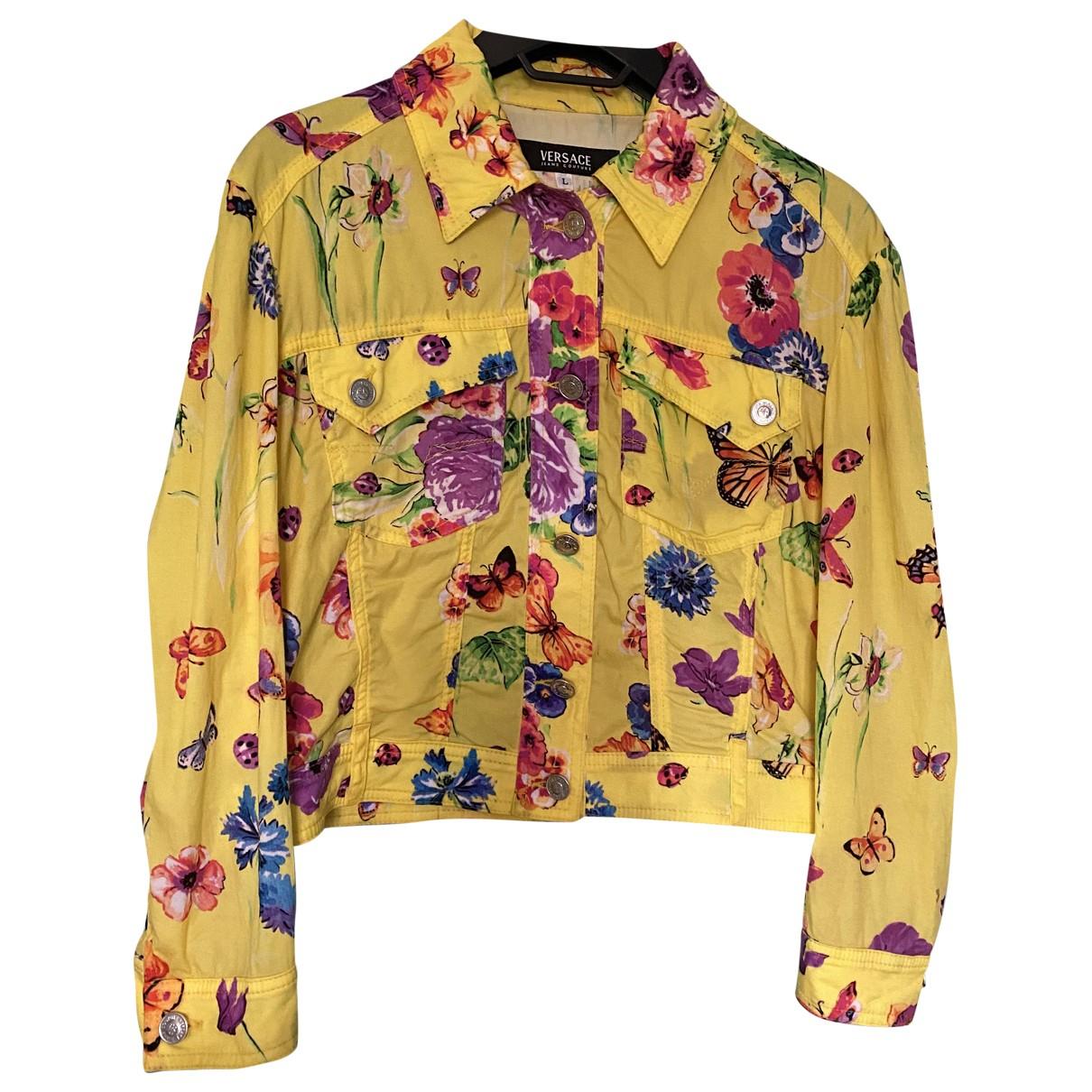 Versace Jean - Veste   pour femme en coton - multicolore