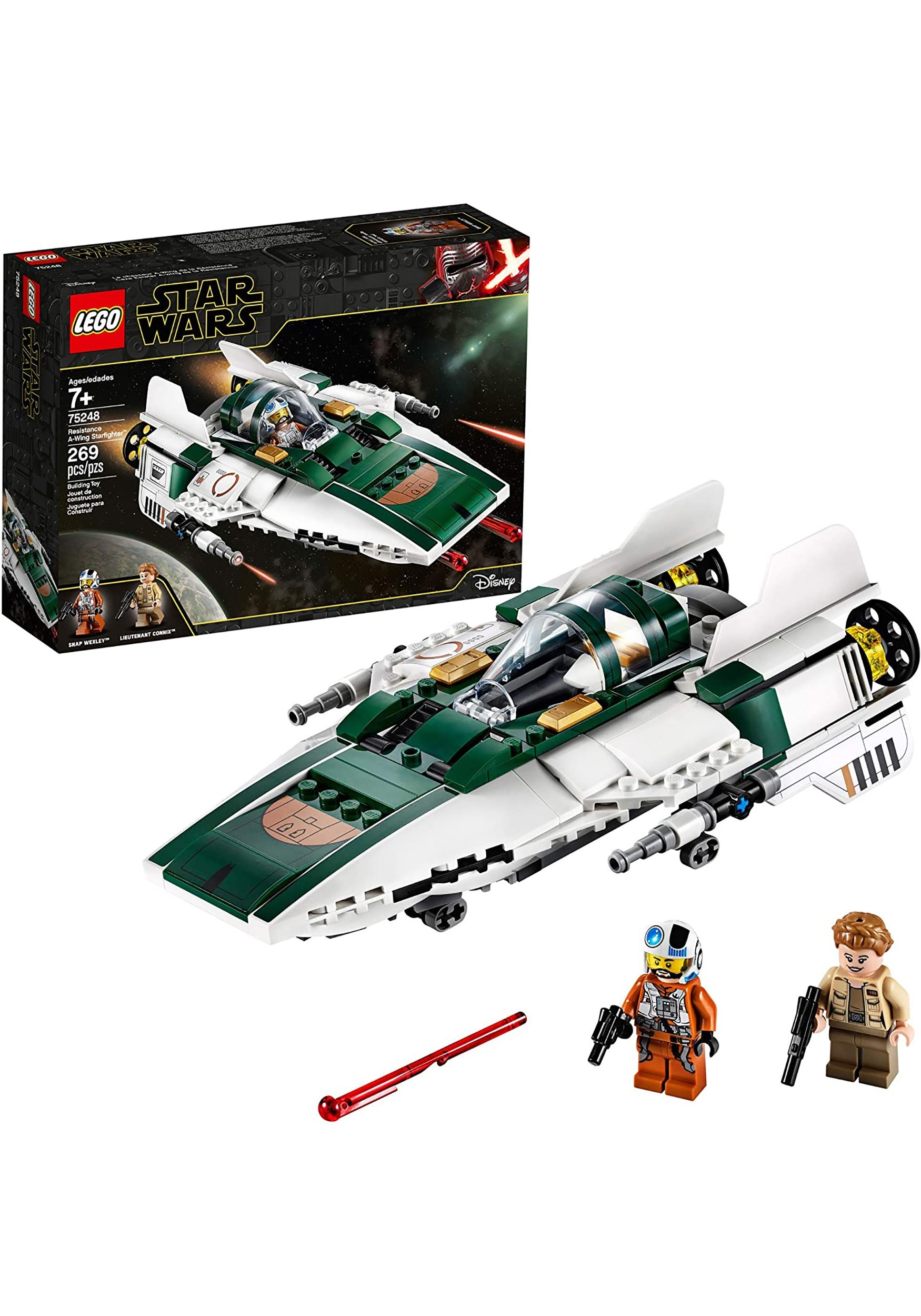 Star Wars Resistance A-Wing Starfighter LEGO Building Set