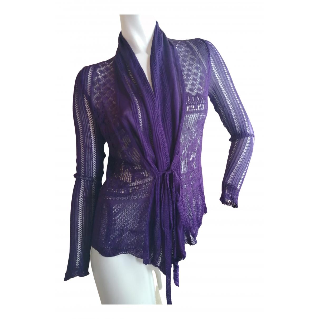 Jean Paul Gaultier N Purple Knitwear for Women 36 FR