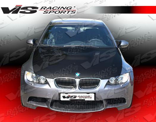 VIS Racing 07BME922DM3-010C Carbon Fiber M3 Style Hood BMW 330i E92 2dr 05-11