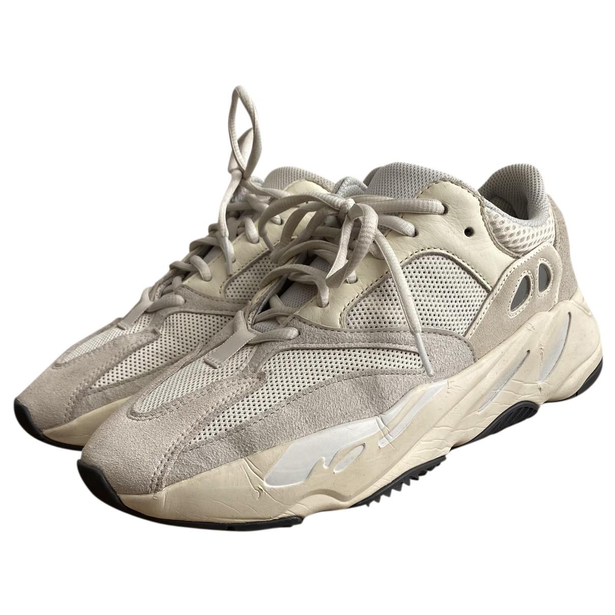 Yeezy X Adidas - Baskets Boost 700 V1  pour homme en toile - beige