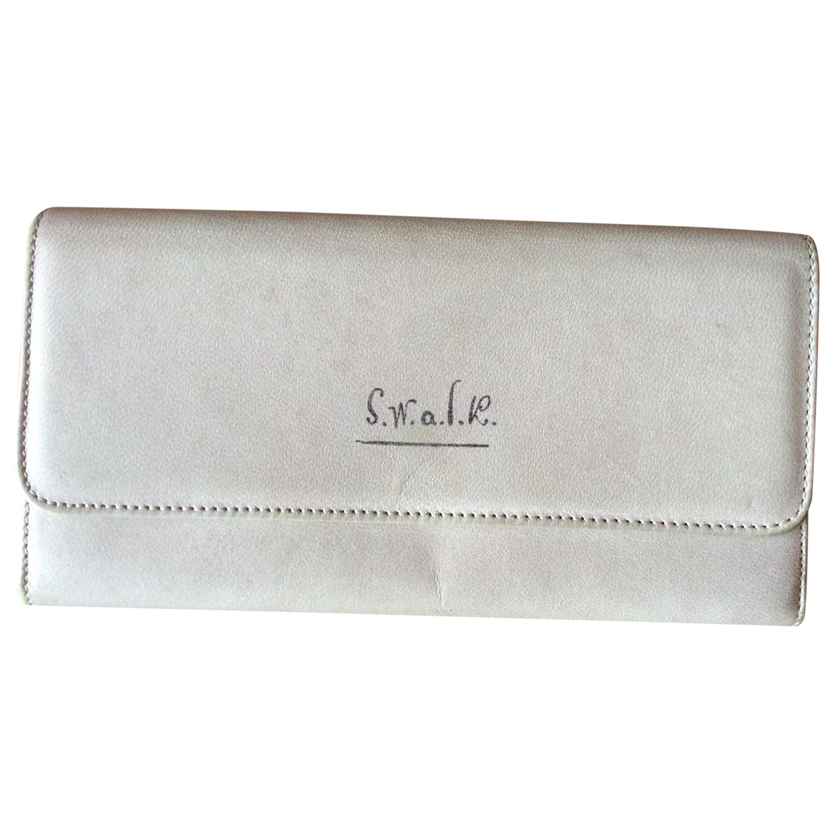 Paul Smith \N Portemonnaie in  Beige Leder