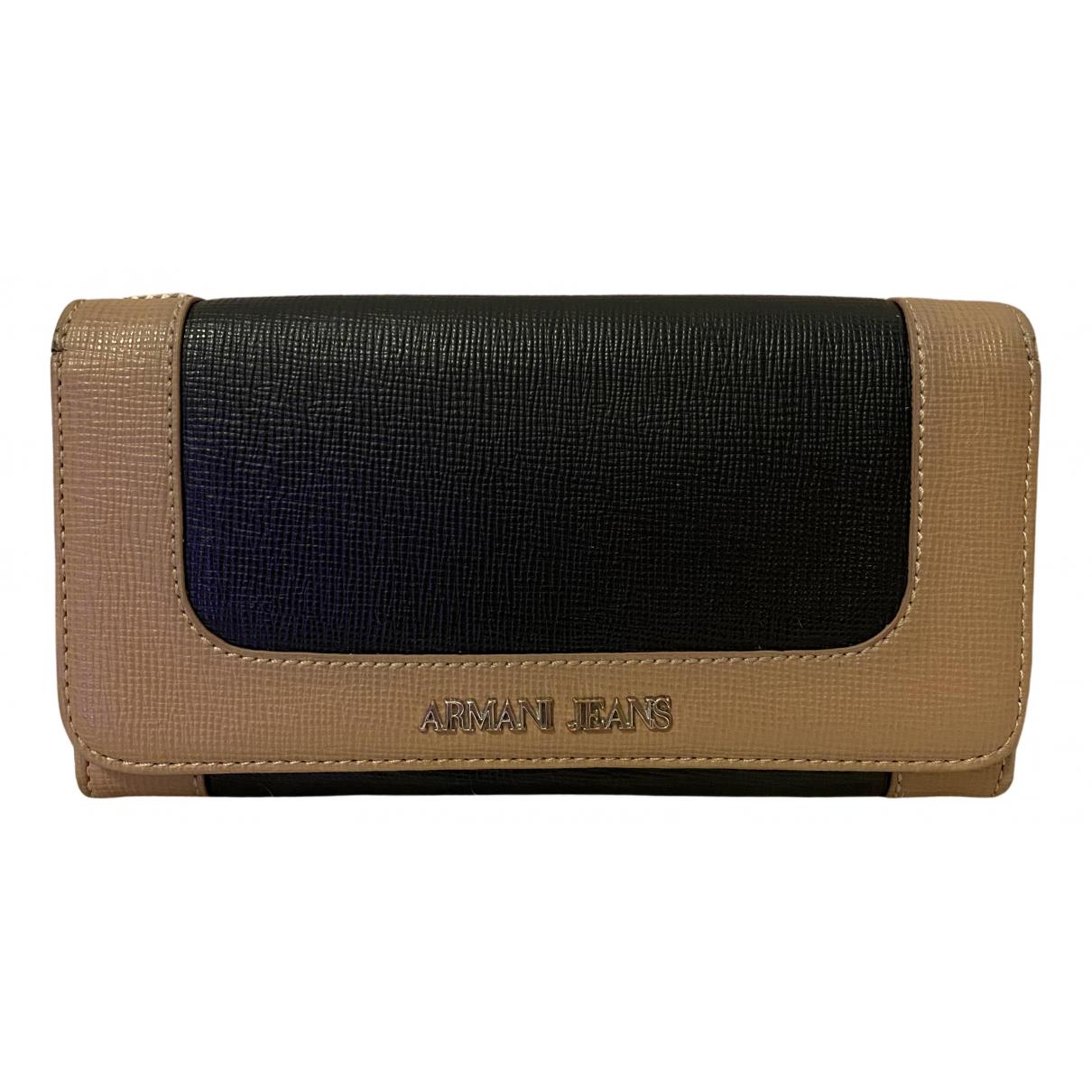 Armani Jeans \N Portemonnaie in Leder