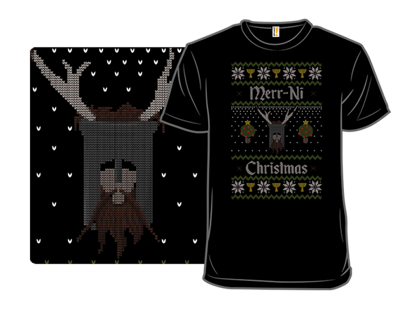 Merr-ni Christmas T Shirt