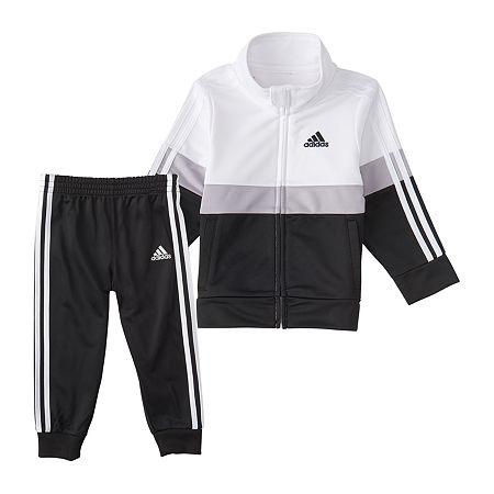 adidas Toddler Boys 2-pc. Pant Set, 3t , Black