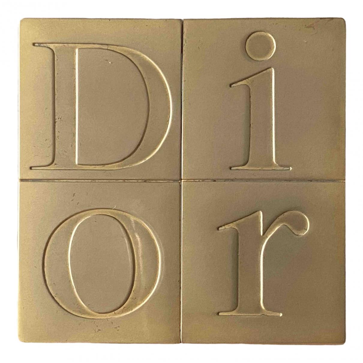 Dior \N Accessoires und Dekoration in  Gold Metall