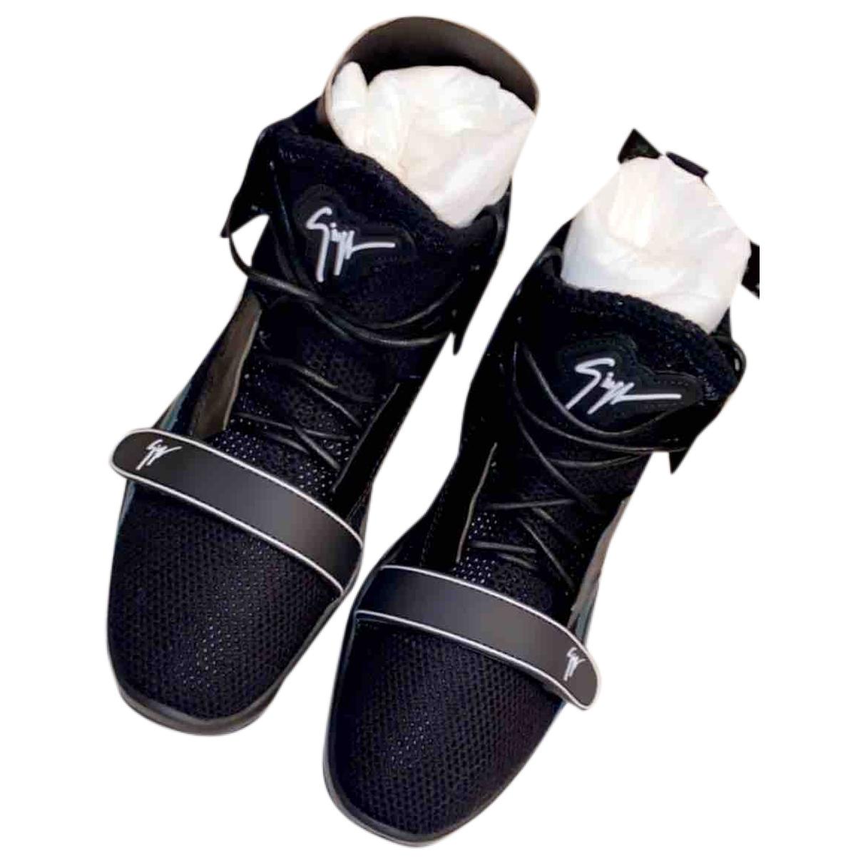 Giuseppe Zanotti \N Sneakers in  Schwarz Polyester