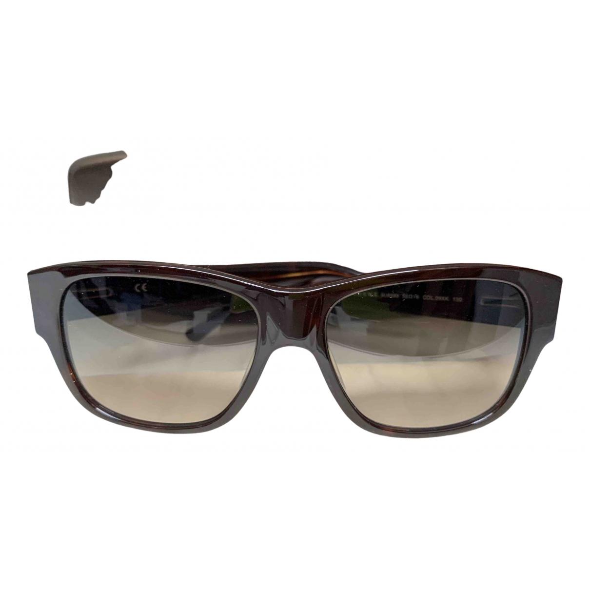 Loewe \N Sonnenbrillen in  Braun Kunststoff