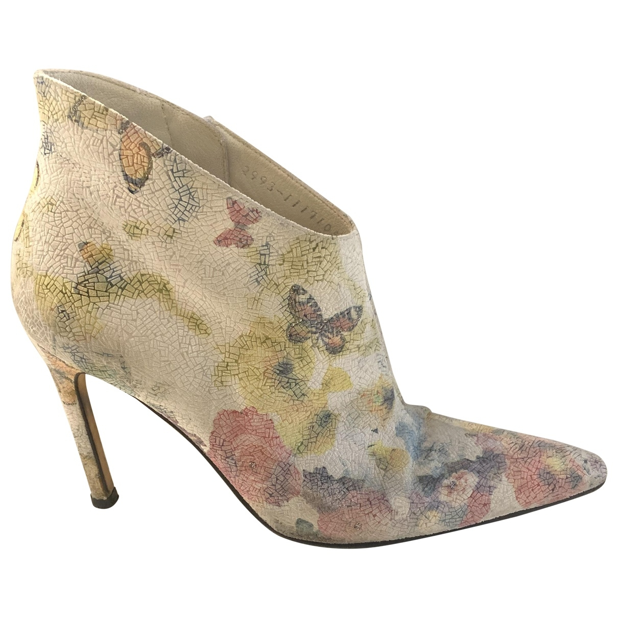 Gina \N Leather Boots for Women 4.5 UK