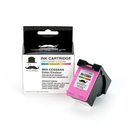 Compatible HP OfficeJet J4680 Color Ink Cartridge - Moustache