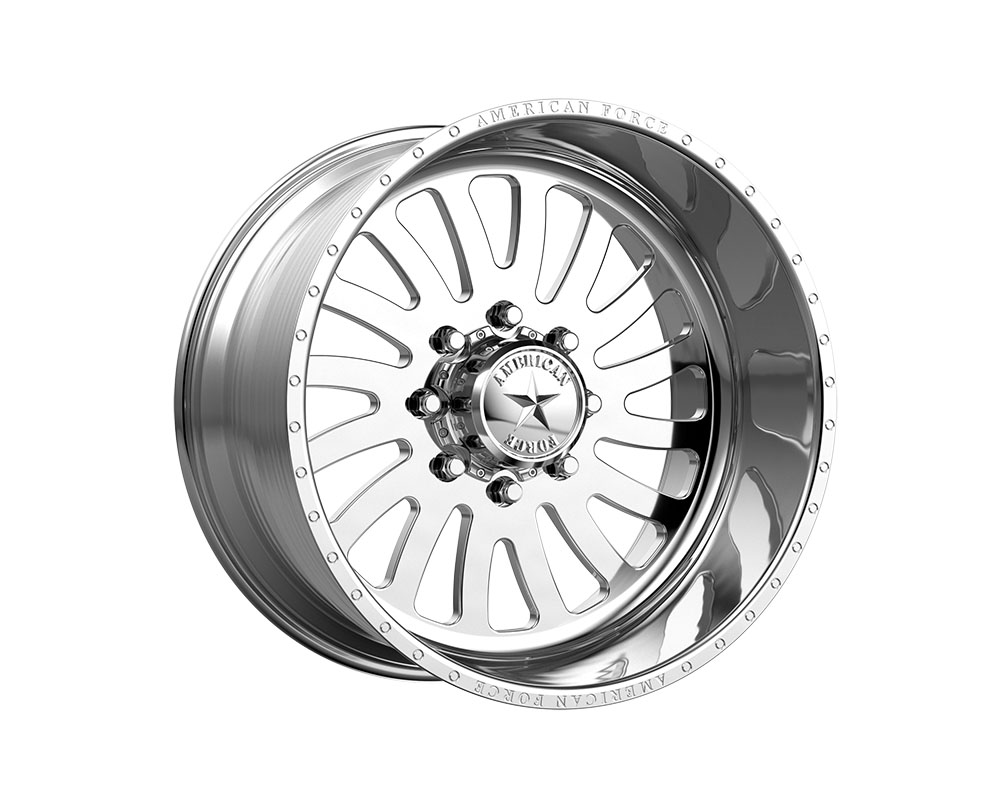 American Force AFTE74RG24-1-21 AFW 74 Octane SS Wheel 20x12 8x8x180 -40mm Polished