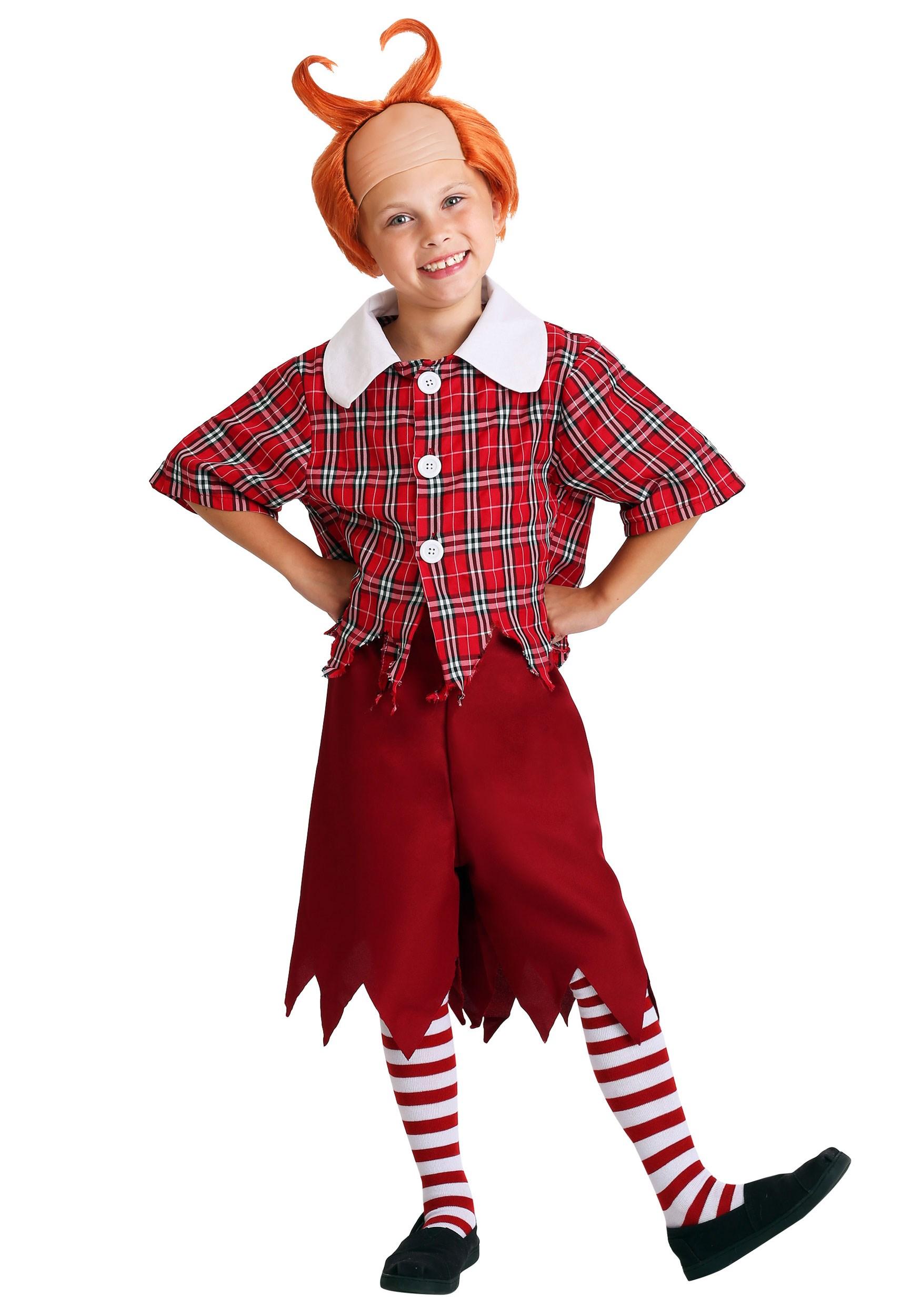 Red Munchkin Kids Costume