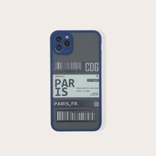 Ticket Print iPhone Case