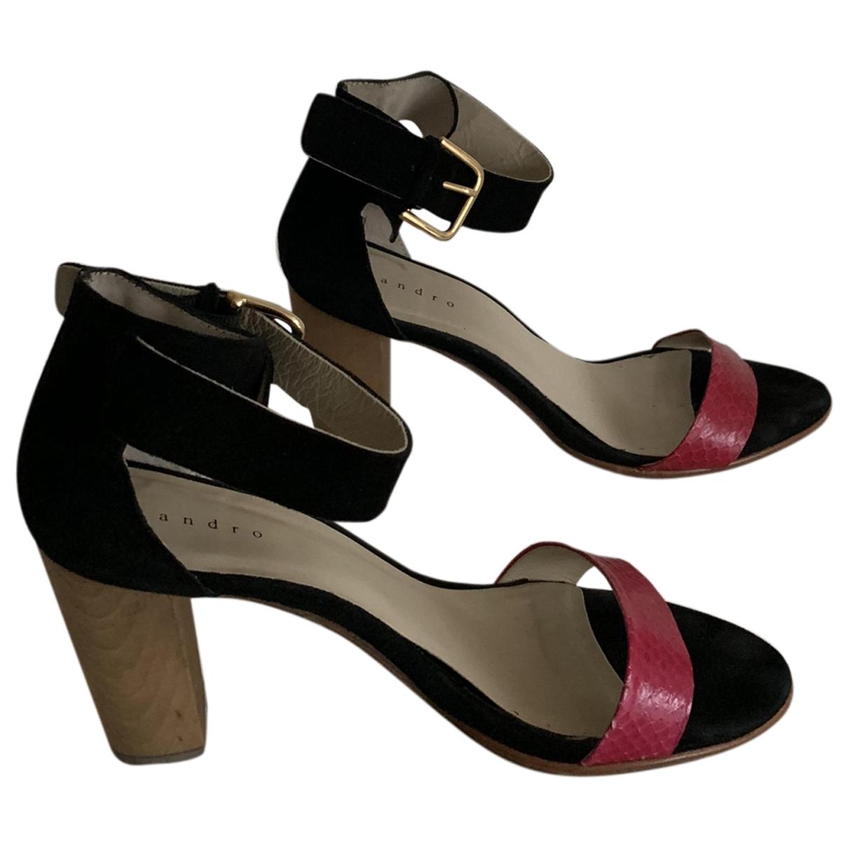 Sandalias de Cuero Sandro