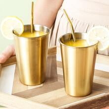 1pc Stainless Steel Tea Cup