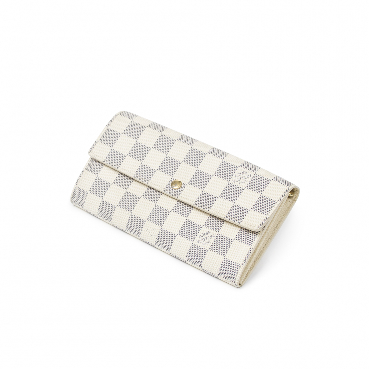 Louis Vuitton Sarah Beige Leather wallet for Women \N