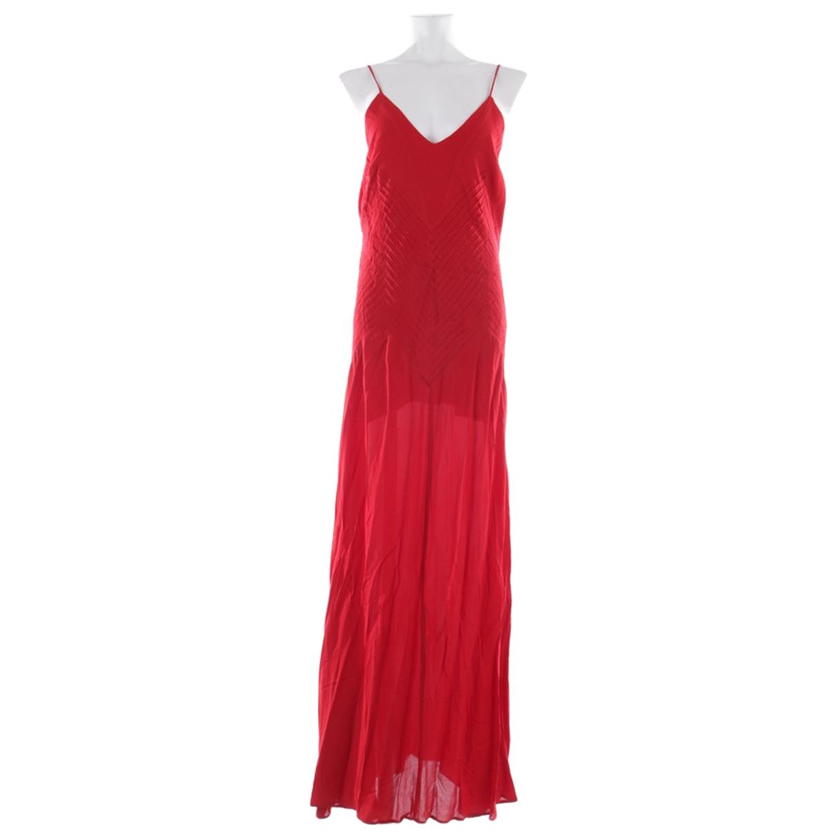 Anine Bing \N Kleid in  Rot Viskose