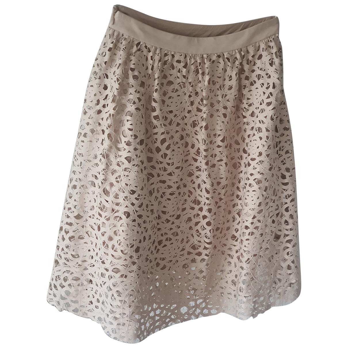 Karl Lagerfeld \N Beige skirt for Women 32 FR