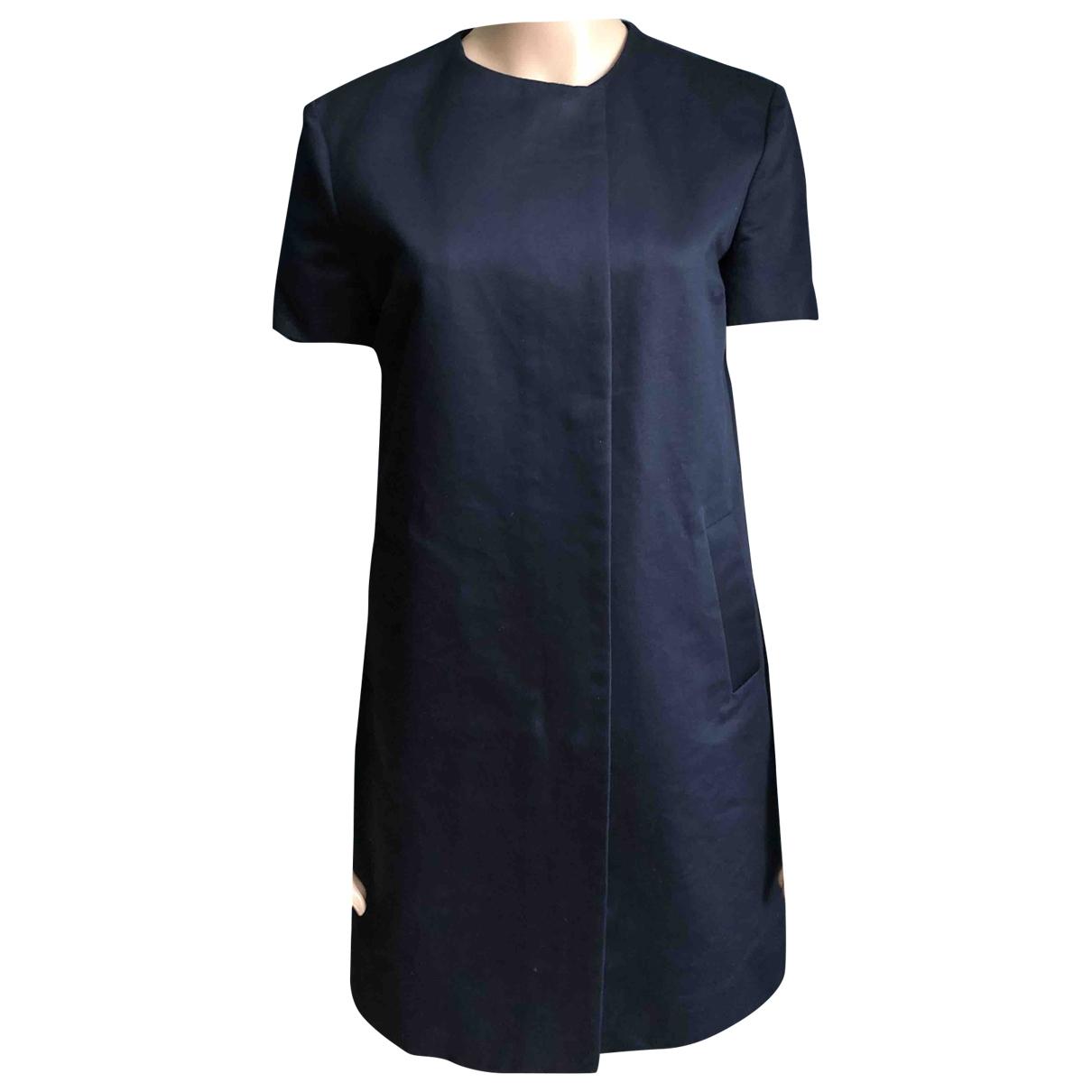 Victoria Beckham \N Blue Cotton jacket for Women 38 FR