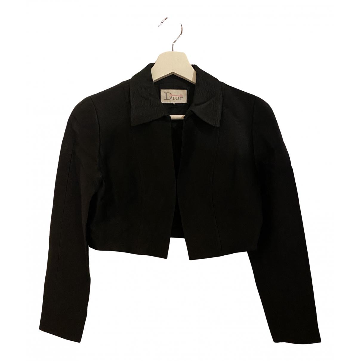 Dior \N Black Cotton jacket for Women 36 FR