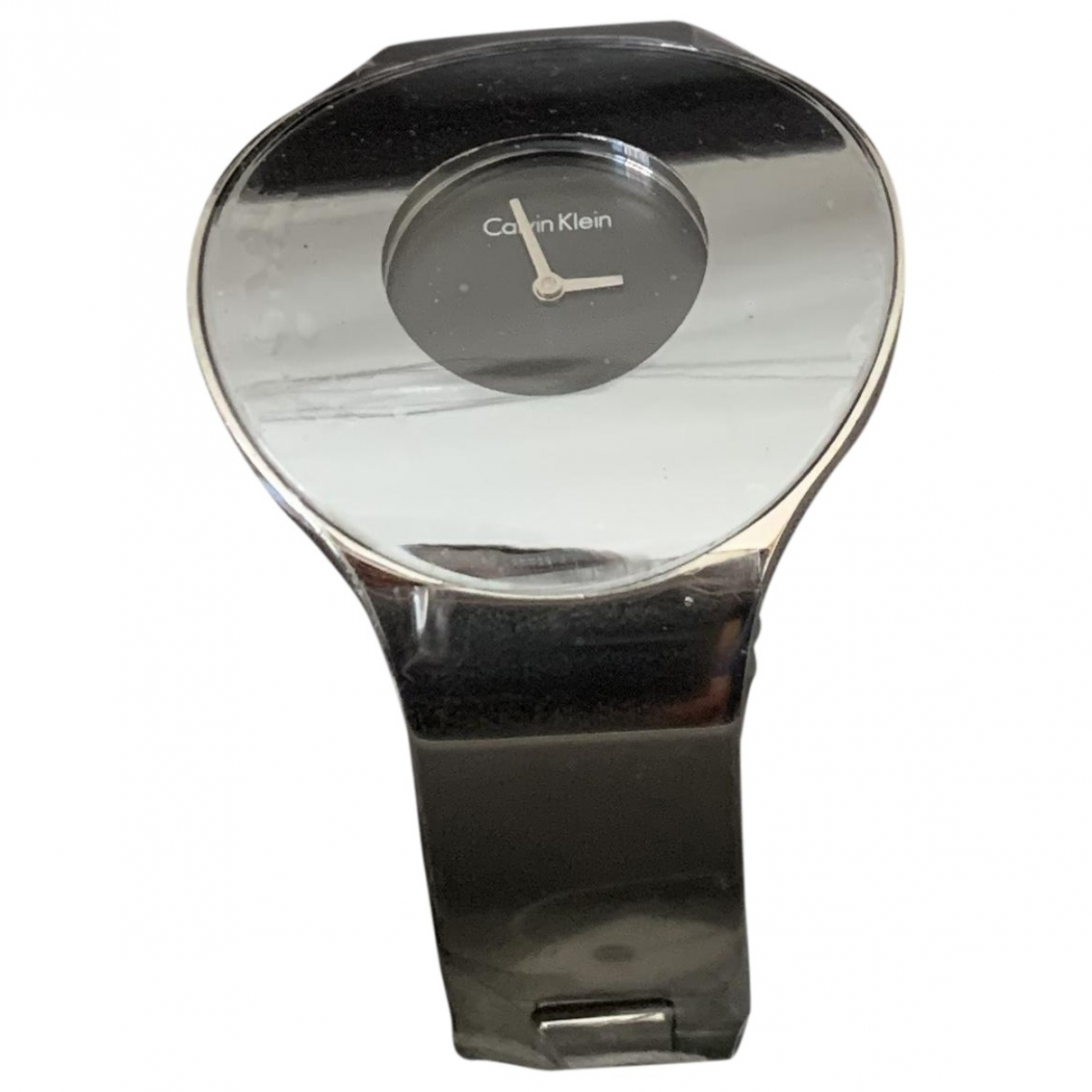 Calvin Klein \N Grey Steel watch for Women \N