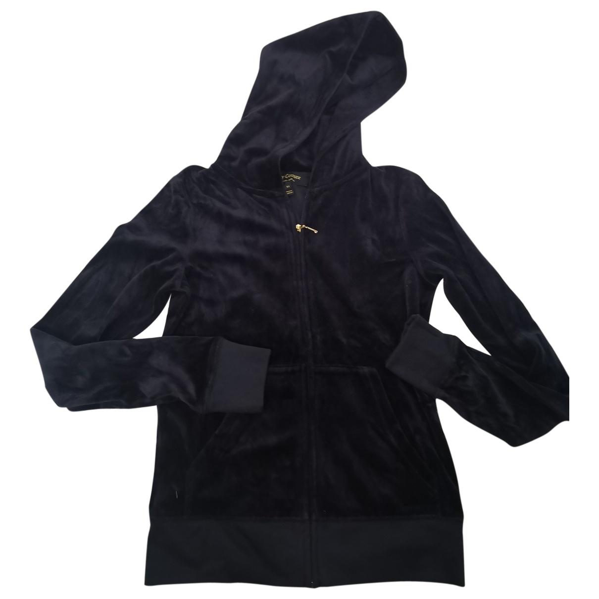 Juicy Couture - Veste   pour femme en velours - noir