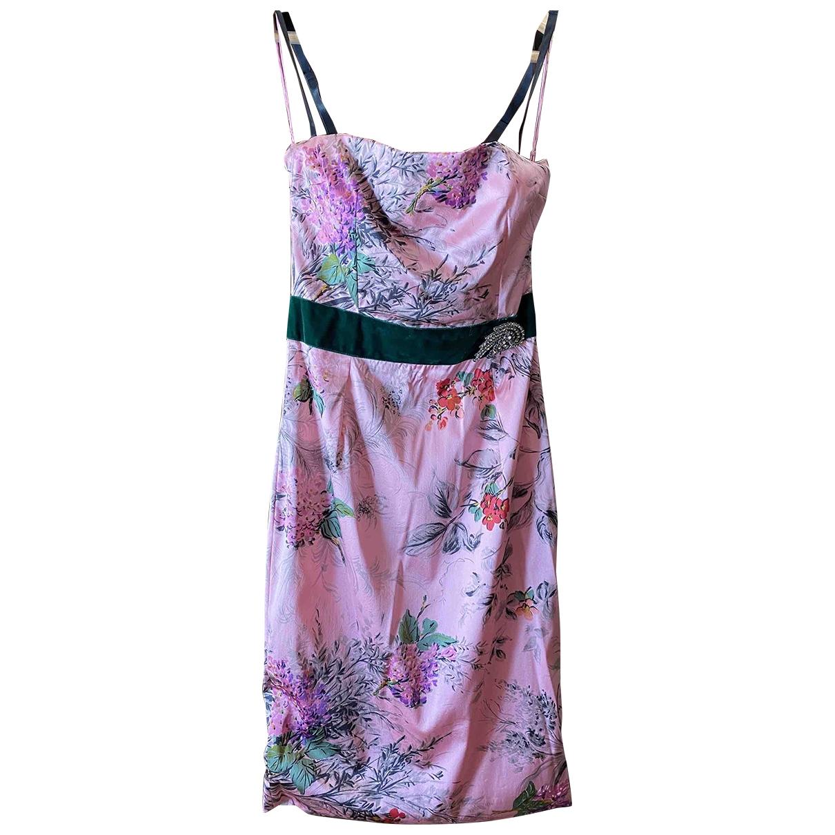 Vestido midi de Seda Dolce & Gabbana