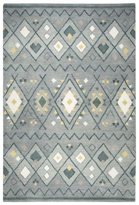 TBLTL646A33550305 Tumble Weed Loft Area Rug Size 3' x 5'  in Gray