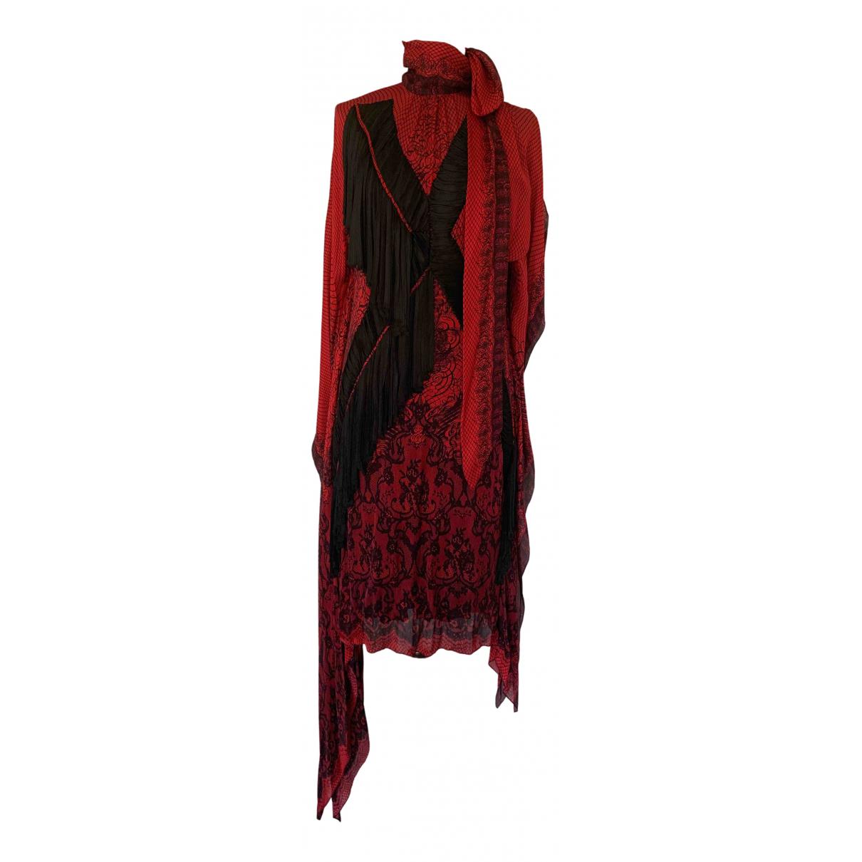 Vestido de Seda Jean Paul Gaultier