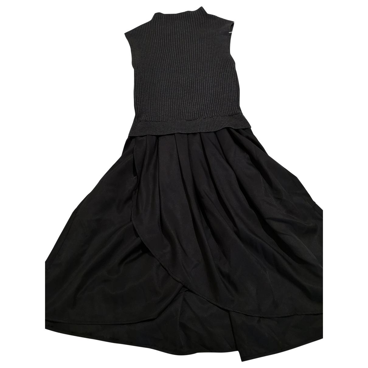 - Robe   pour femme en coton - gris